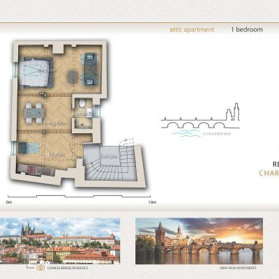 12 Residence Charles Bridge Apartment 06